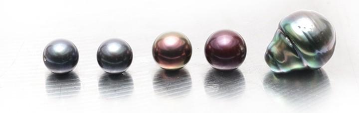 Tahitské perly barevnost a tvar