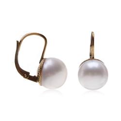 perlové náušnice
