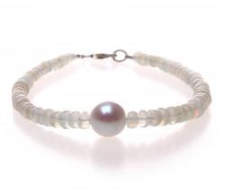 náramek s opály a perlou