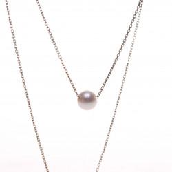 perla na řetízku AA
