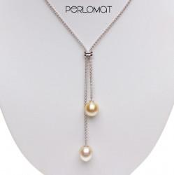 atraktivní perlový náhrdelník, south sea perly