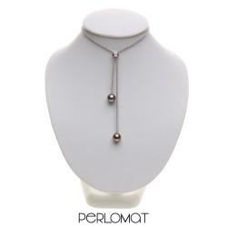 náhrdelník s tahitskými perlami