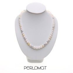 exkluzivní akoya perlový náhrdelník