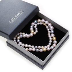 multicolor náhrdelník, akoya perly
