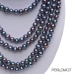 dlouhý perlový náhrdelník